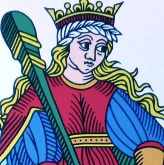 Curso de Tarot Reina de bastos