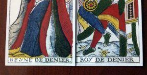 Reyne y Roy del Tarot de Pierre Madenié