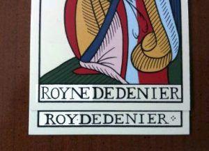 Royne y Roy del Tarot de Jean Noblet