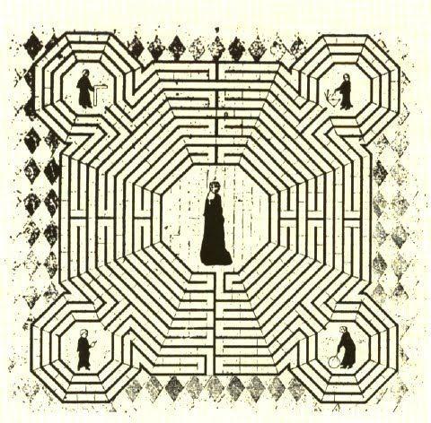El desarrollo del alma en el Laberinro de Reims