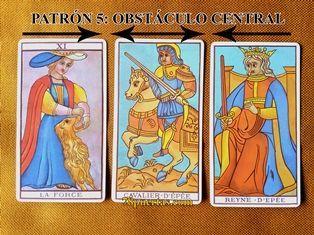 Fuerza, Caballo de Espadas y Reina de Espadas del Tarot de Marsella de Naipes Fournier