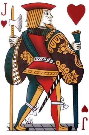 Jack de Corazones mazo Rouen