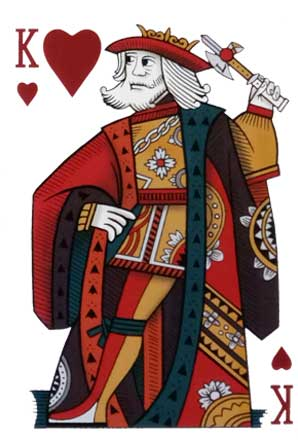 Rey de Corazones mazo Rouen