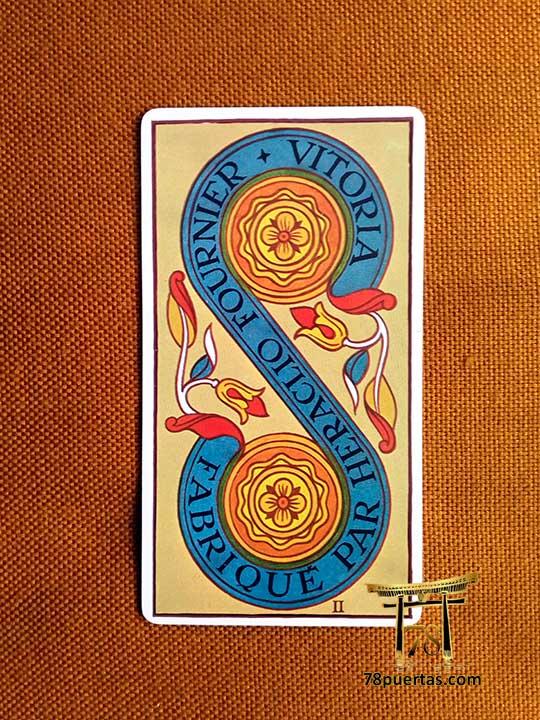 2 de Oros - El Matrimonio en el Tarot