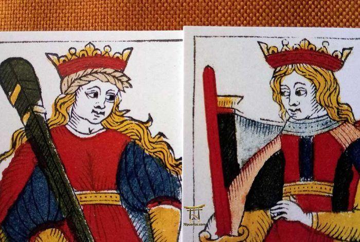 Los Patrones Visuales de las Coronas en el Tarot