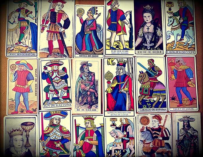 Las Figuras de Corte del Tarot de Marsella