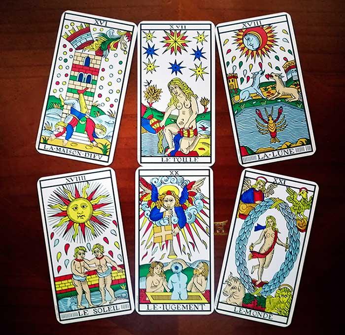 Las Profesiones en el Tarot