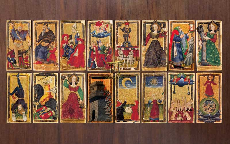 El Tarot de Carlos VI