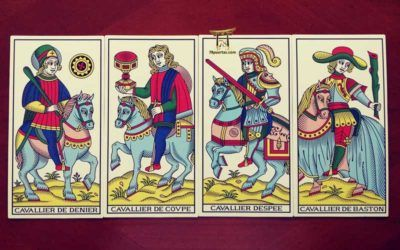 Los Caballos del Tarot de Marsella