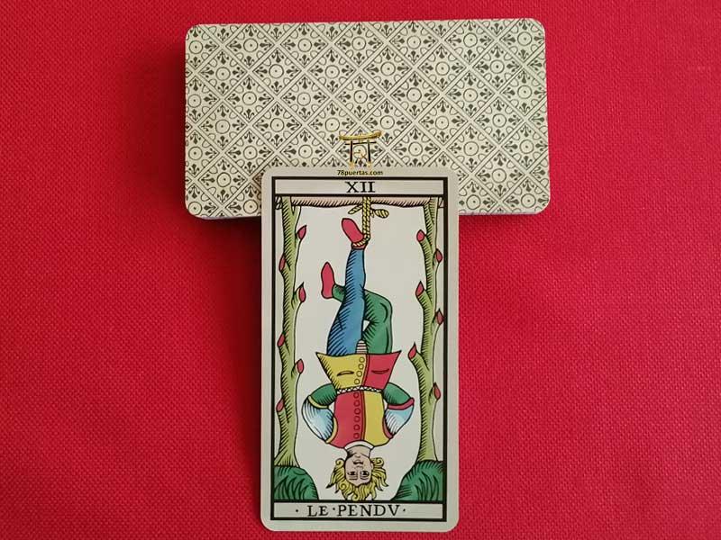 Colgado del Tarot de Marsella