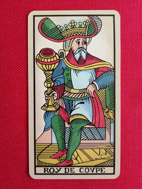 Rey de Copas del Tarot de Pablo Robledo