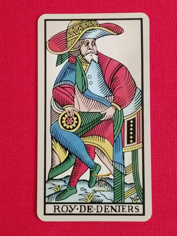 Rey de Oros del Tarot de Pablo Robledo