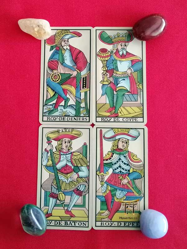 Los Reyes del Tarot de Marsella