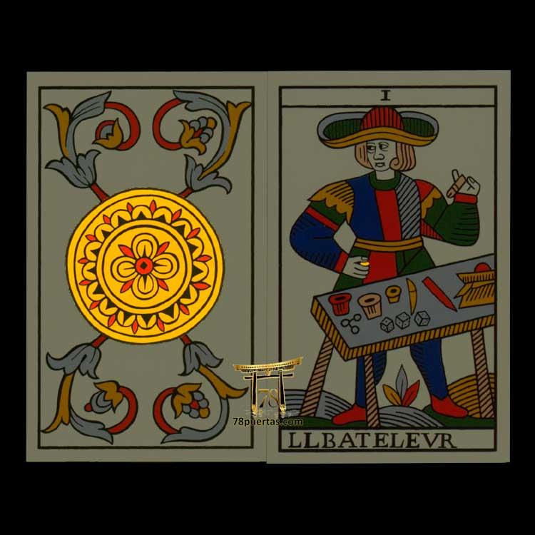 Secretos del Tarot de Marsella - As de Oros y Mago del Tarot Noblet